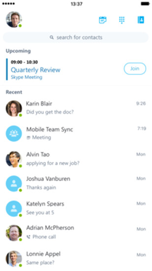 skype安卓手机版